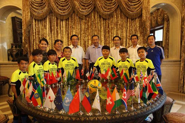 和苑博物馆为填补国际助残空白的中国球队庆功
