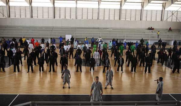 少林武术与和平的理念在科特迪瓦传播