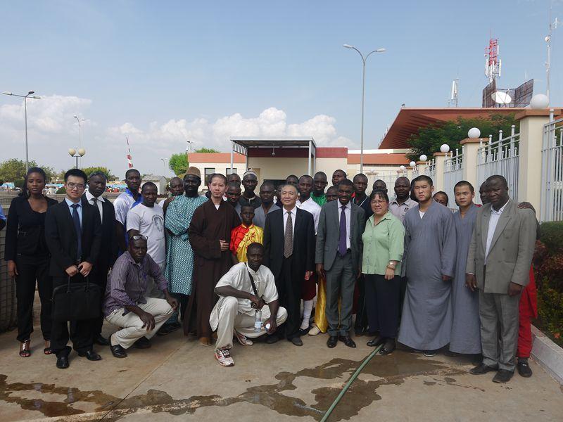 中国世界和平基金会用和平与文化声音感动马里