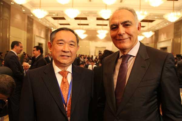 中摩(伊本 白图泰)友好协会务实两国经济论坛
