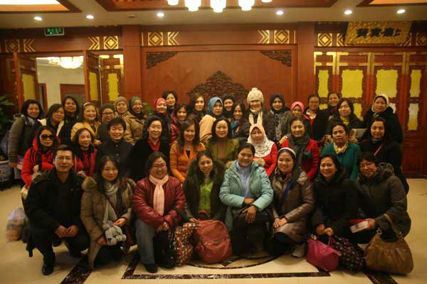 东盟十国妇女联盟外交团在北京绽放友谊之花