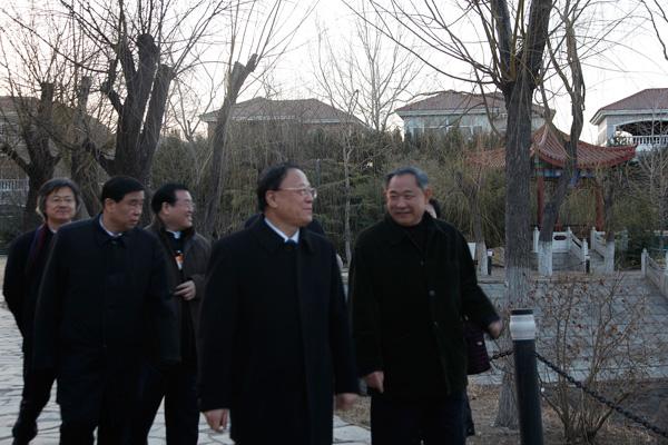 河北省领导访问北京国际和平文化基金会