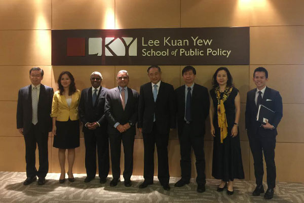 "Lecture ""NGOs in China"" by Dr. Li Ruohong at Lee Kuan Yew School of Public Policy"