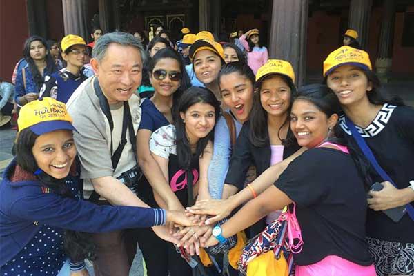 """中国世界和平基金会考察团""""一带一路""""印度行"""
