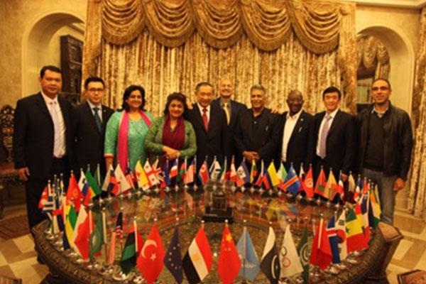 巴基斯坦国防委员会主席携多国代表团访问和苑