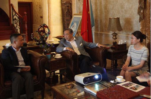 美国慈善机构访问北京国际和平文化基金会