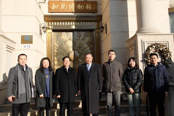 中共北京市委统战部严卫群副部长来访基金会调研交流