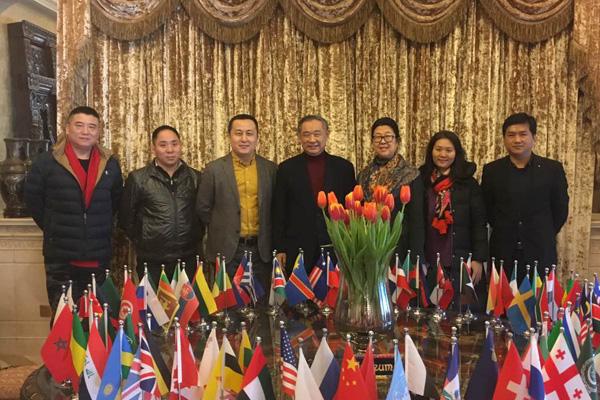 中国慈善联合会副会长兼秘书长王爱平来访基金会调研交流