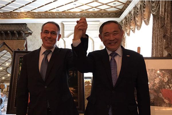 摩洛哥驻华代办再访和苑