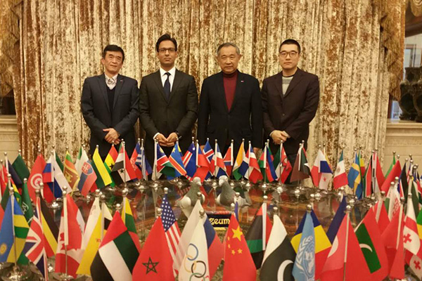 Pakistan-China Institute visits Beijing International Peace Culture Foundation