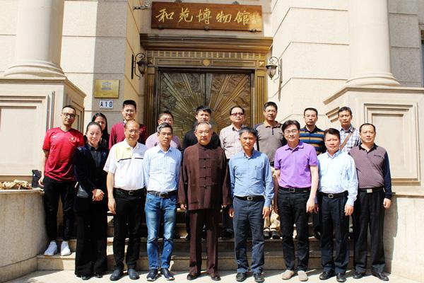 顺德人大代表团参观考察北京和苑博物馆