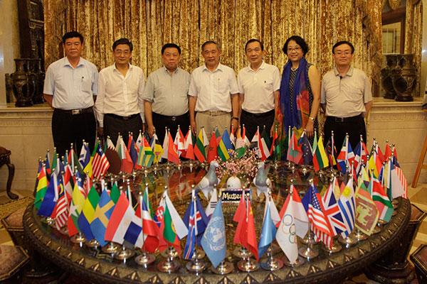 """多省市驻京办事处主任在和苑共商""""一带一路""""国际合作"""