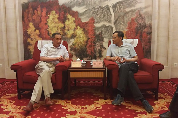Dr. Li Ruohong Inspects Liaoning Province for a Co-Promotion of Belt and Road Cultural Atlas