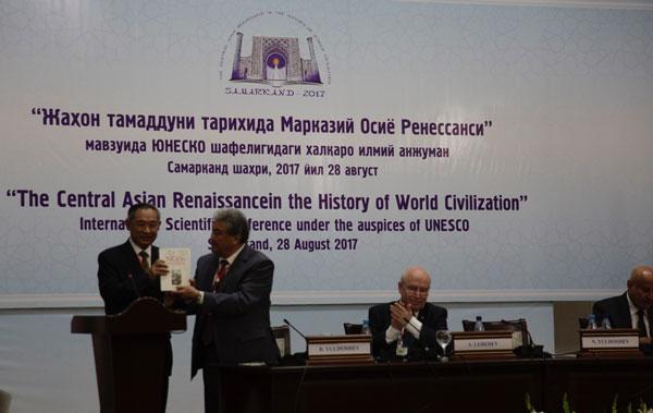 联合国教科文与各国代表在乌国进行国际研讨会