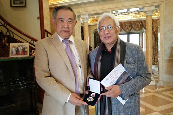 驻华使团团长到访北京国际和平文化基金会