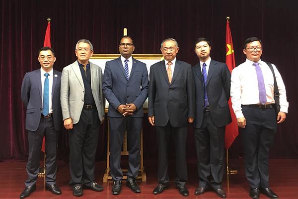 李若弘出席纪念中国和马尔代夫建交45周年邮票首发式