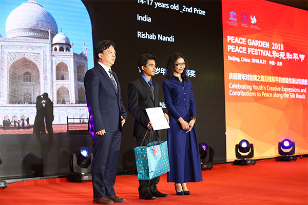 UNESCO award to Jamshedpur boy Rishab for best photography