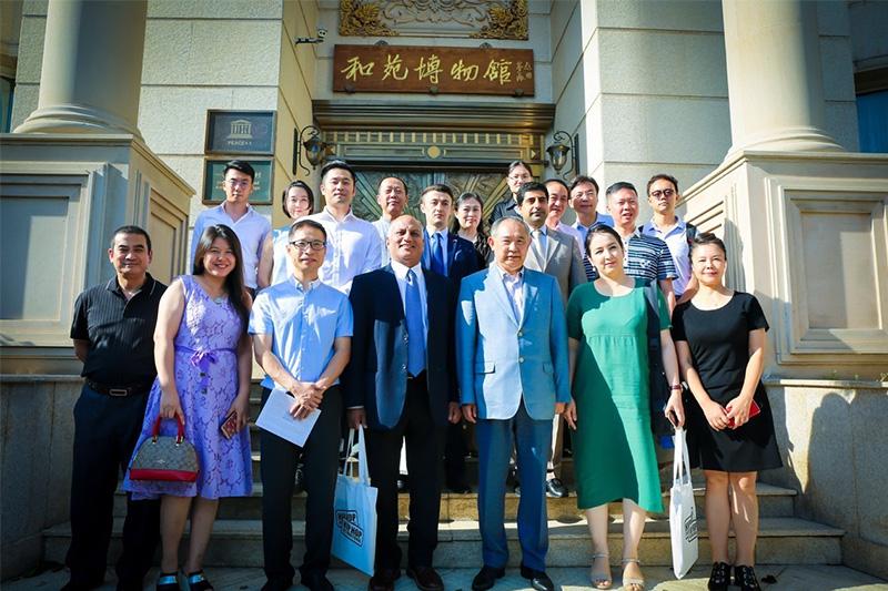 中国品牌一带一路万里行首届企业家沙龙在京召开