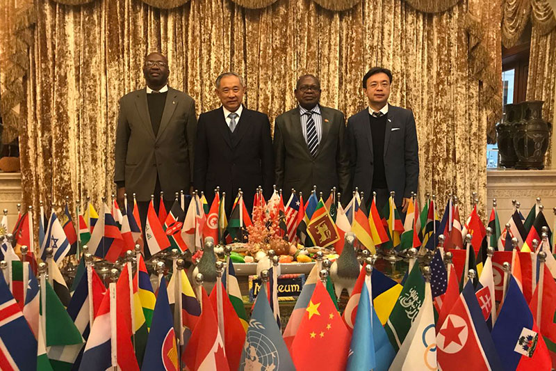 The Peace Garden Visit of Zimbabwe's Ambassador to China Promoted the Development of China-Zimbabwe relations