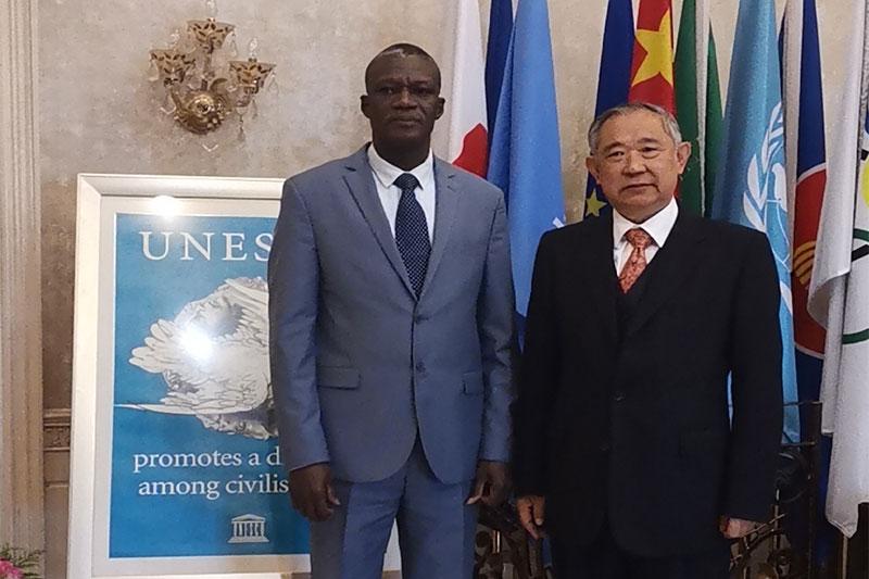 新任马里驻华大使在和苑倡导非洲五国和平发展