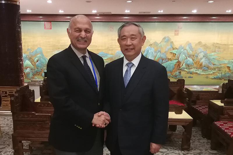 Li ruohong held friendly talks with the Chairman of the National Defense Committee of the Pakistani Senate