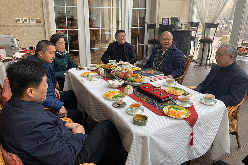 Beijing People's Association for the Friendship with Foreign Countries,Beijing NGO Network for Foreign Exchanges visited Peace Garden
