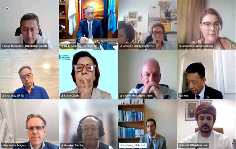 李若弘博士在UNESCO丝绸之路项目国际联络会议上发表视频讲话